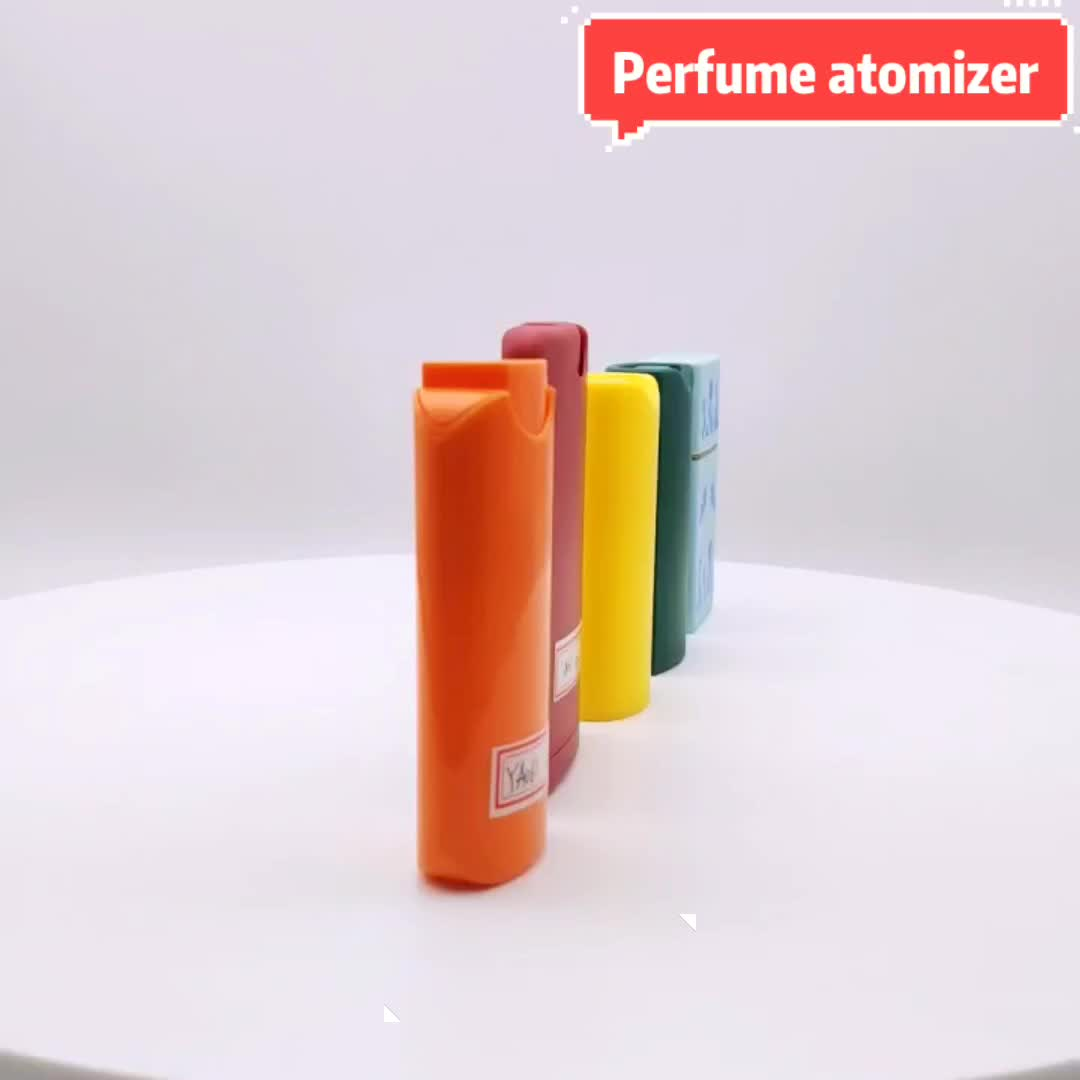 PP empty pocket size perfume container bottle 15ml for oral care