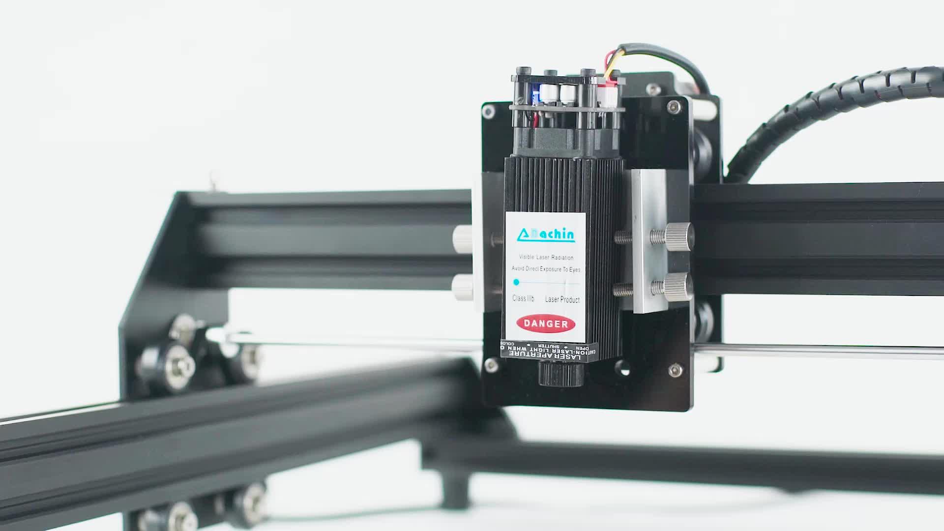 BACHIN good price 2500mW advanced toys wood leather mini laser engraving machine diy cnc cutting engraver