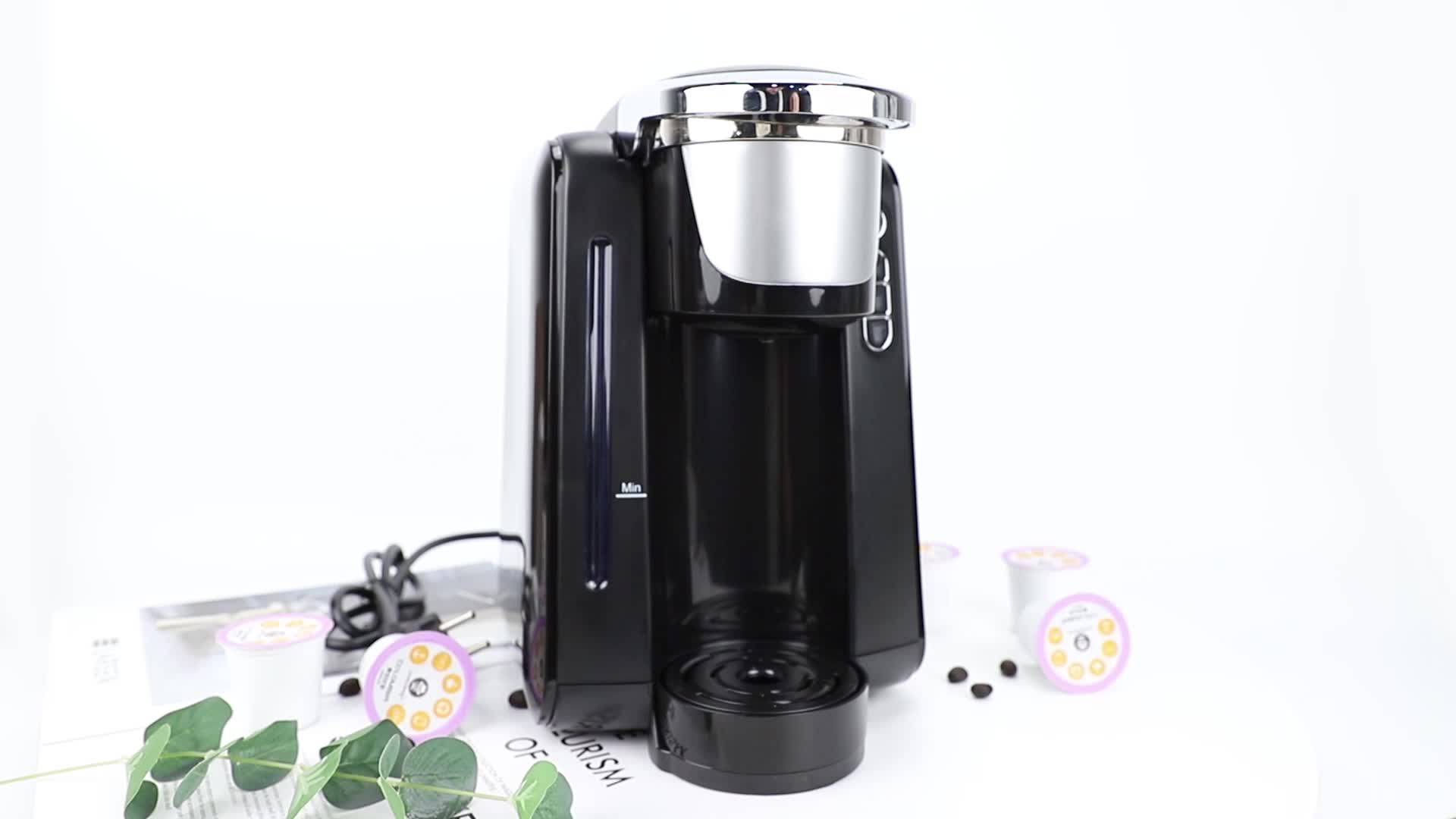 China dolce gusto nespresso ese coffee pod coffee machine fully automatic coffee maker 19 bar pump for multi capsules