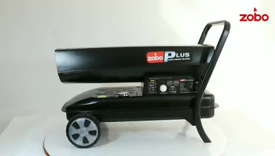 ZOBO Newest Design 55kw Dual Purpose Kerosene and Diesel Oil heater Used For Inside and Outside Large Space Heating For Sales
