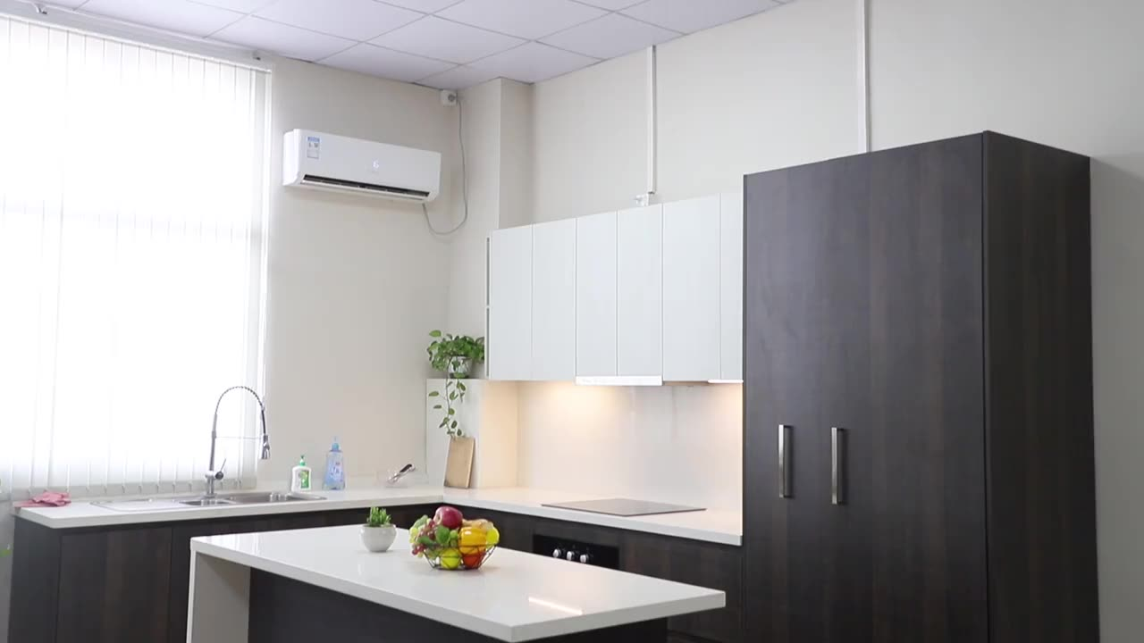 Shaker Modern Style Mdf Lacquer Kitchen Cabinet Set Use for Sale