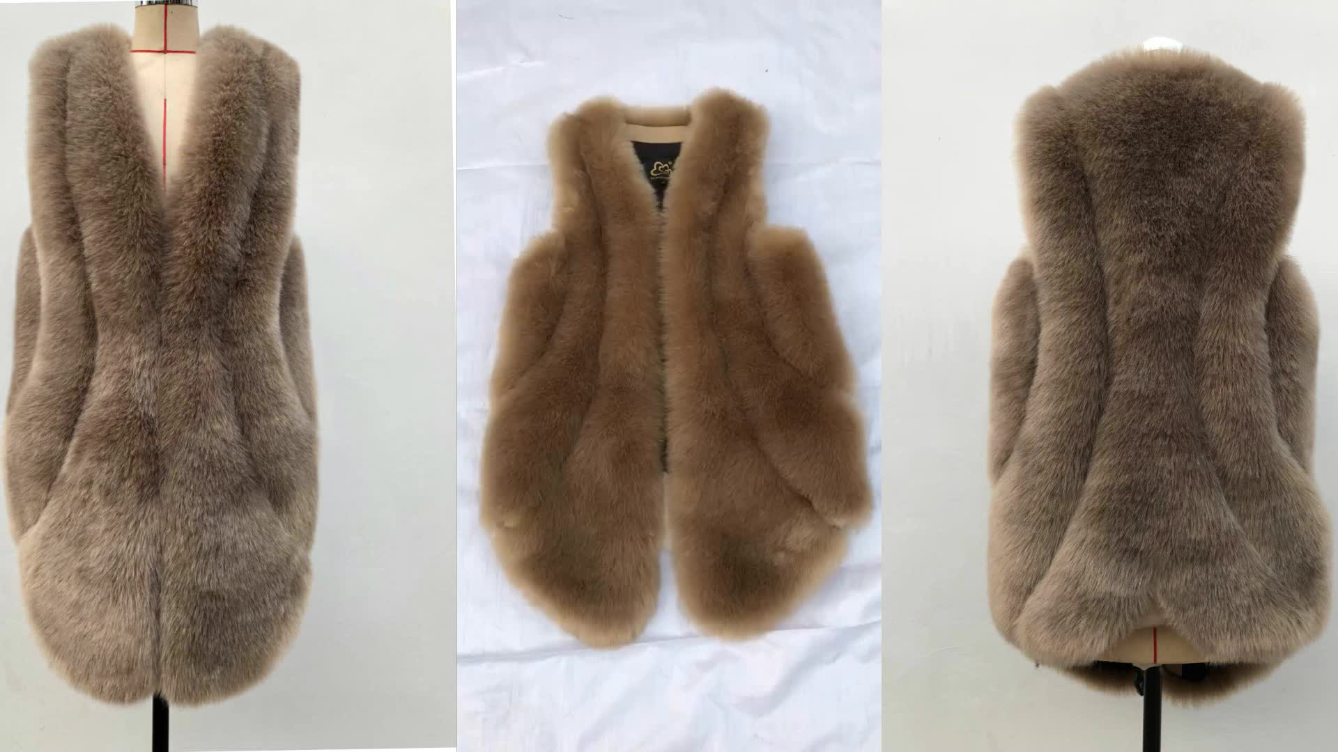 Hot Sales Popular Vest For Women Faux Fur Vest