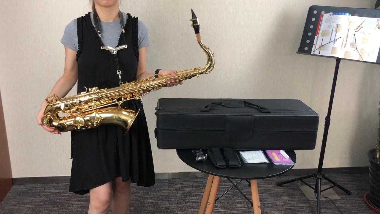 OEM Chinese Cheap Wholesale Bb Bend Tenor Saxophone High Quality Professional On Sale