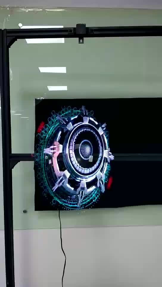 LED fan 3D holographic advertising wifi 3D holographic led fan display 3D hologram advertising tool