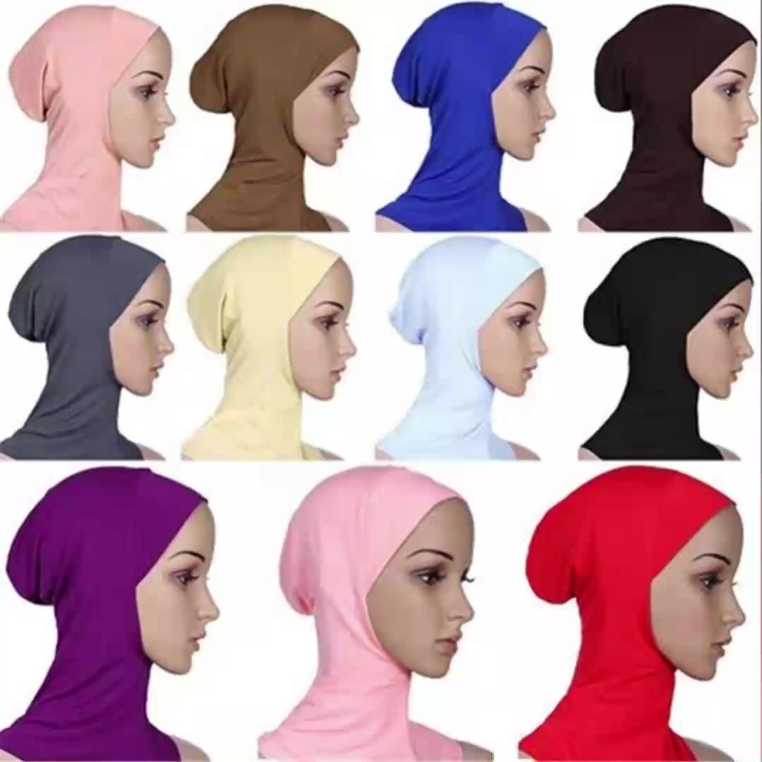 Hijab boné de hijab feito sob encomenda, venda mais vendidos