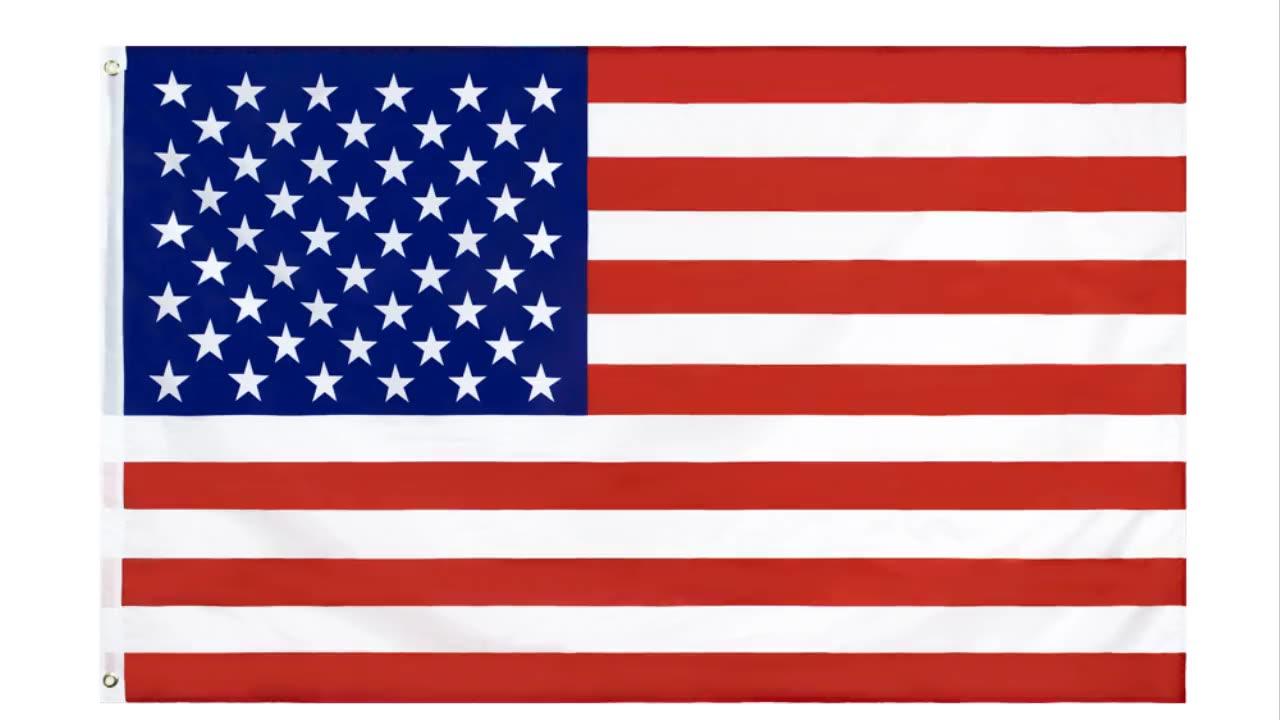 थोक स्टॉक 3x5 Fts 90x150cm प्रिंट सितारे और पट्टियों अमेरिका संयुक्त राज्य अमेरिका अमेरिकी का ध्वज संयुक्त राज्य अमेरिका