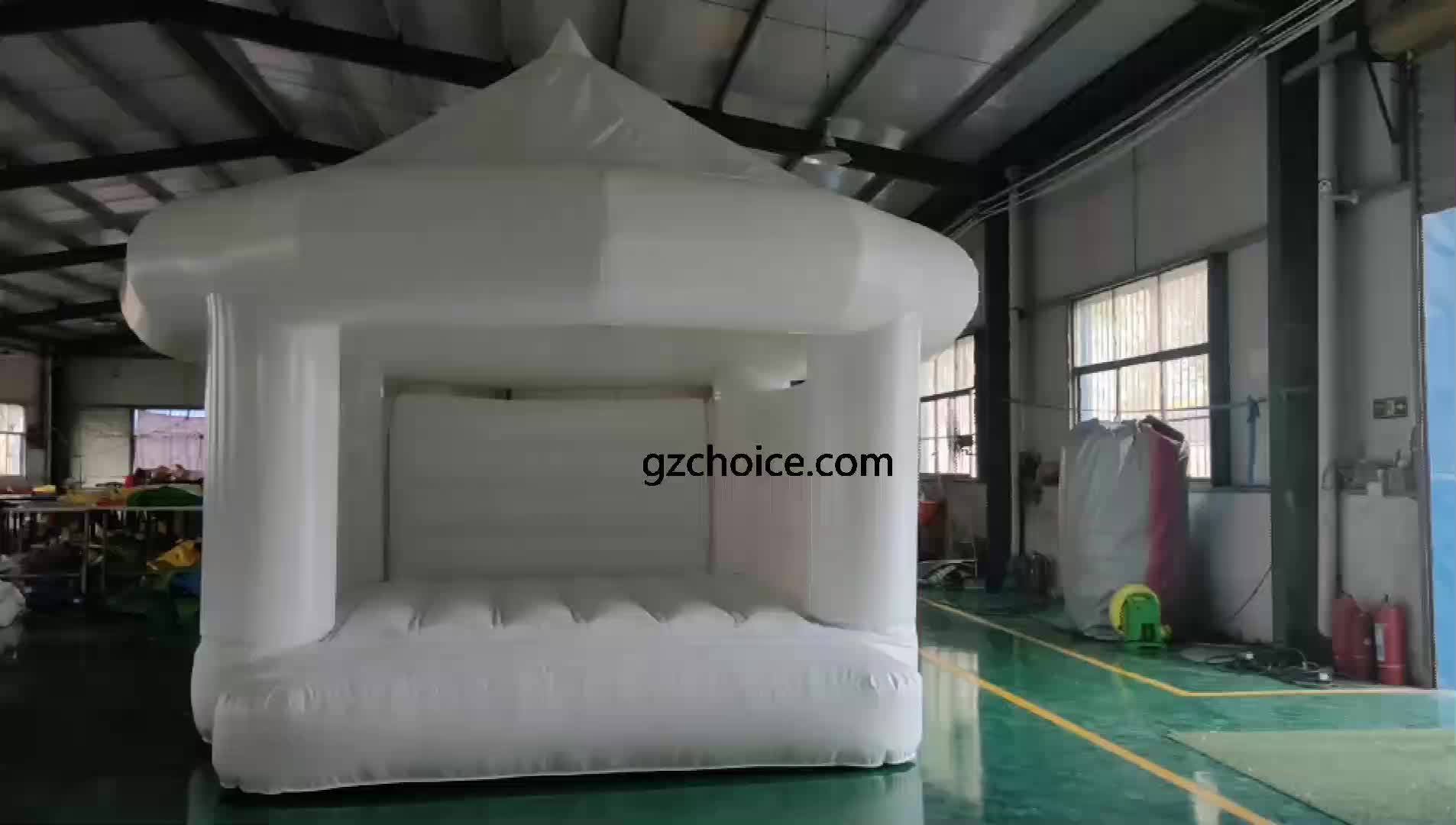Competitive Price New Fashion Inflatable Wedding Bouncer House Wedding Jumping Castle