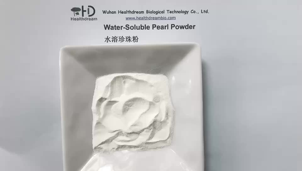 Pearl Powder from freshwater cultured pearls withFood/Pharm Grade