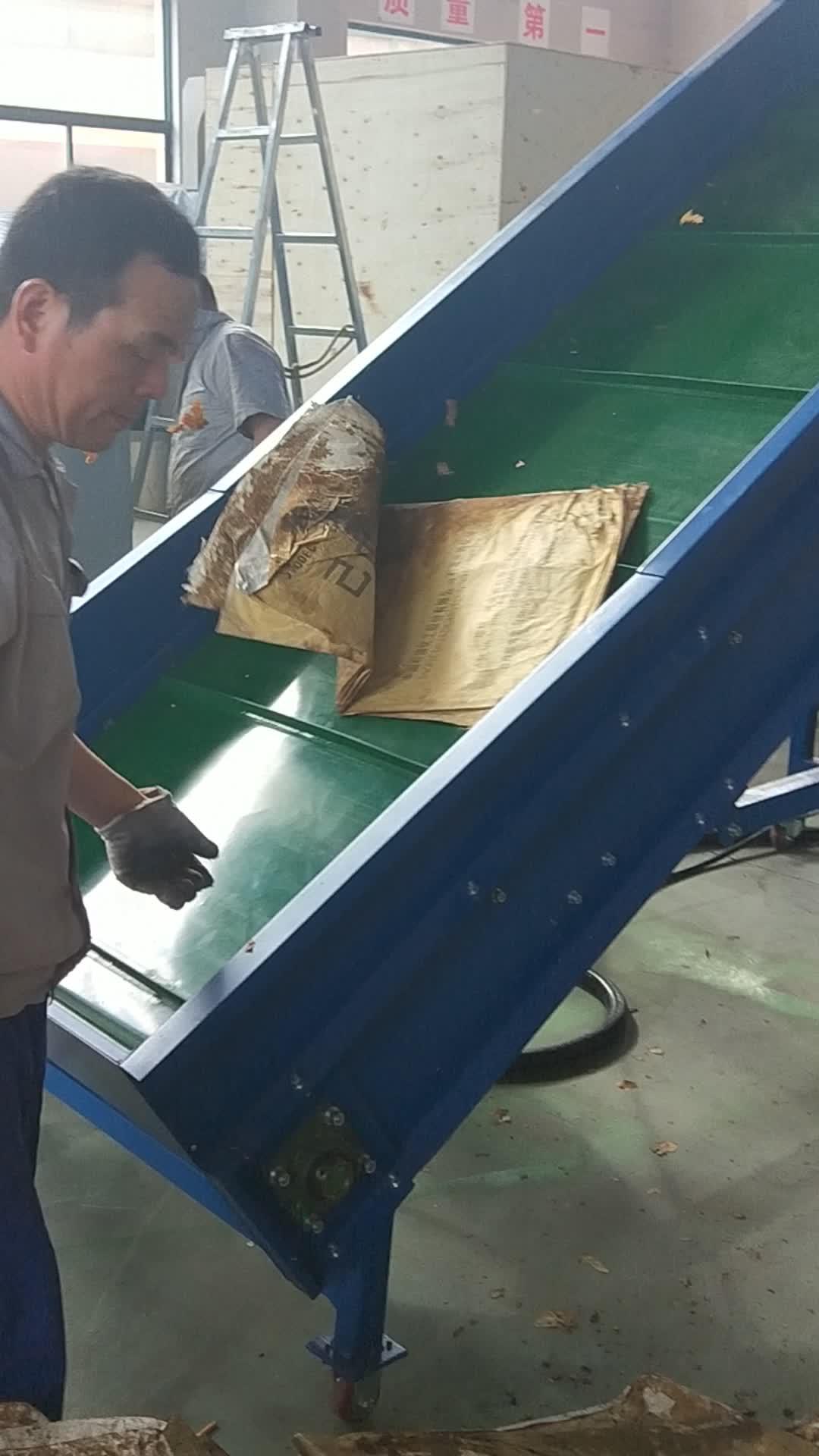 Two shaft Shredder for film CF-TS series plastic shredder machine used in industry