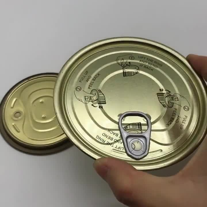 99 Tin Lid Canned Food Easy Open Lid
