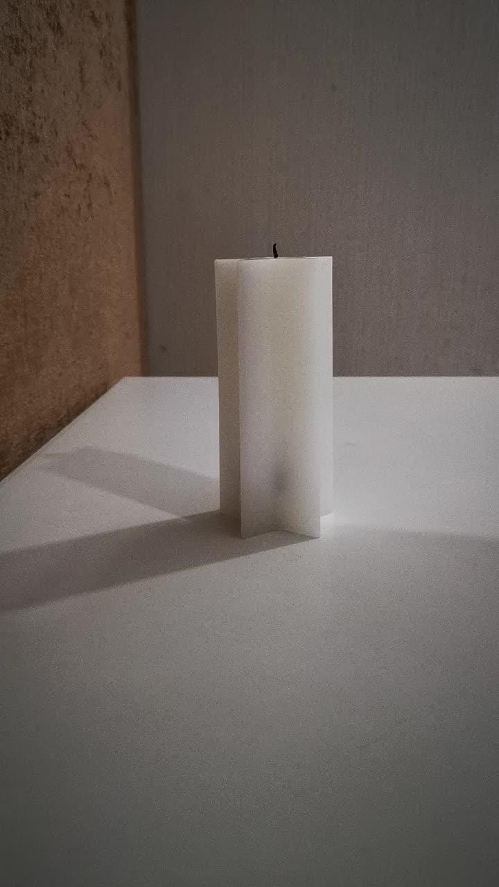 Venta caliente luz inducción Led vela electrónica batería operada LED Tealight vela onda vela con altura diferente