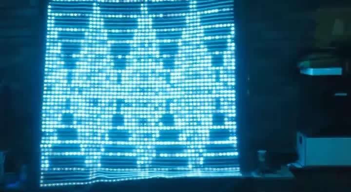 HD Flexible Mini LED Screen Display/Indoor LED Curtain Screen P5 P6 P10