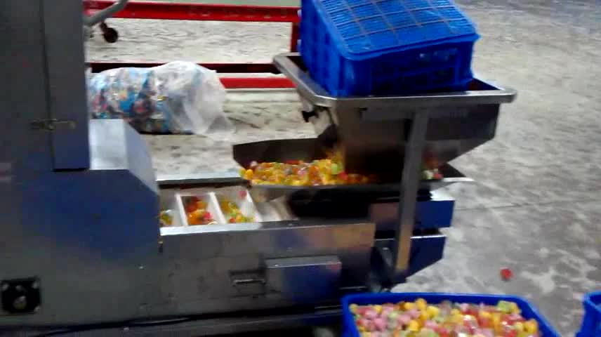 Multi Head Weigher Gummy Bears Candy Pouch Packing Machine