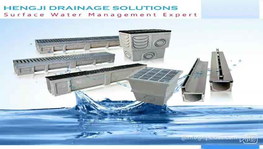 En1433 Co100 300 Precast Polymer Concrete Gutter Drainage Channel Made In China Buy Drain Gutter Precast Drainage Channel Precast Drainage