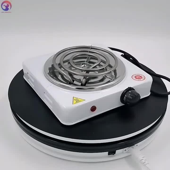 Hot Bán 1000W Burner Đơn Bếp Điện Cuộn Dây Nóng Tấm Nấu Ăn Cho Nhà & Khách Sạn