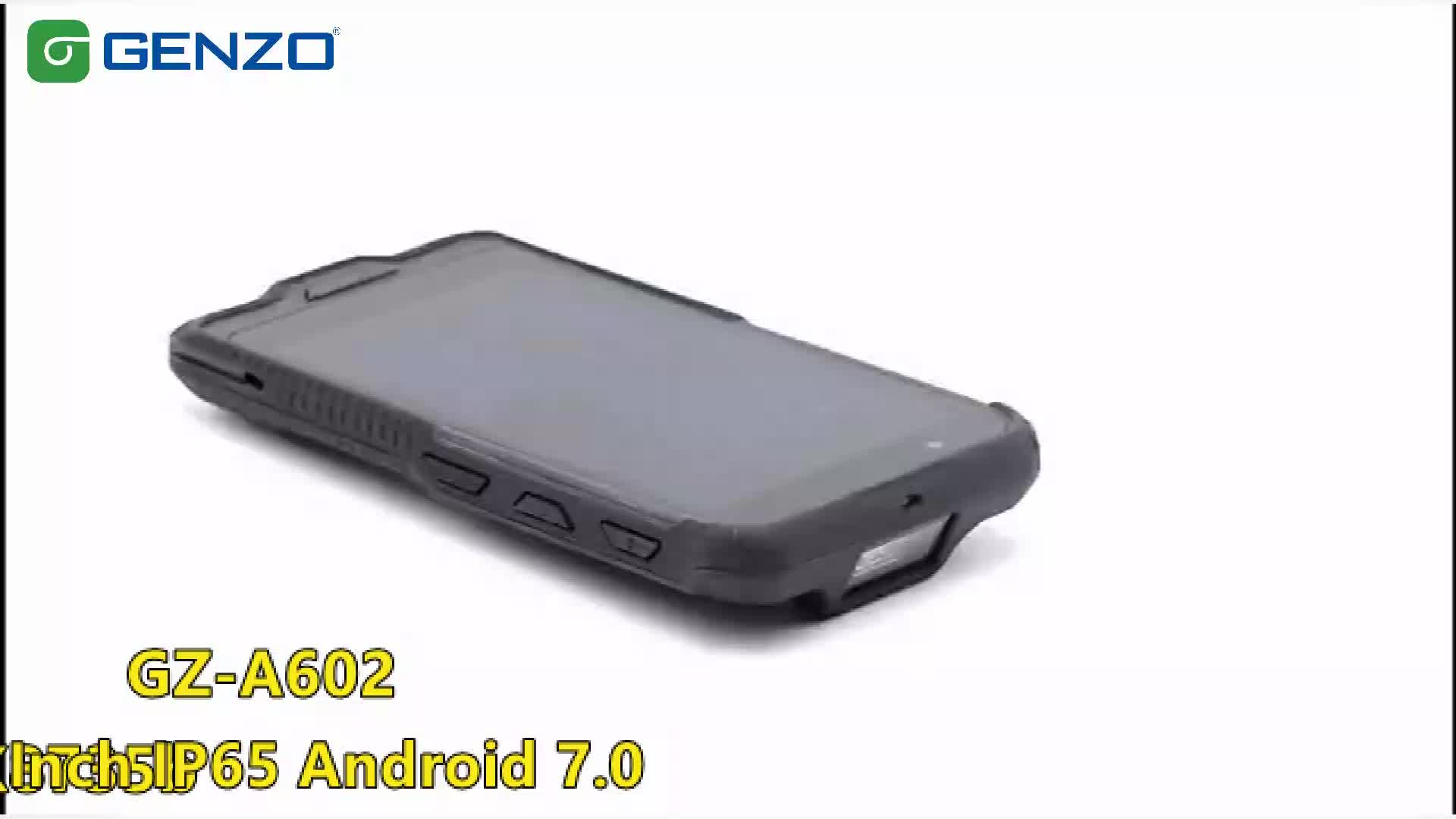 Shockproof Waterproof NOT Used Phone 4G Rugged Android 8.1 Smart Phone With 5000mAh Mobile Phone lcds NFC 2D Barcode Scanner