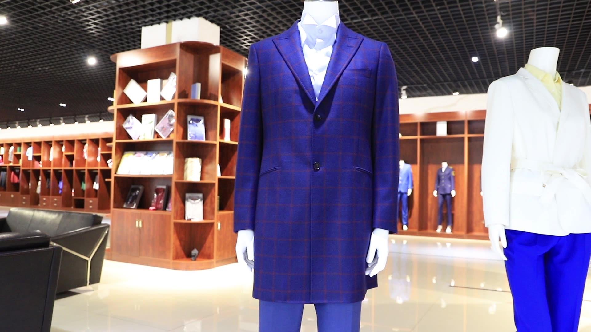Yün kumaş çok yaka stilleri salon takım elbise iş erkek takım elbise bordo blazer