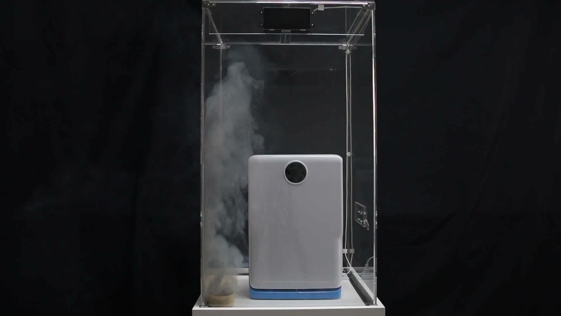 Low power consumption auto air purifier, discover negative ion air purifier