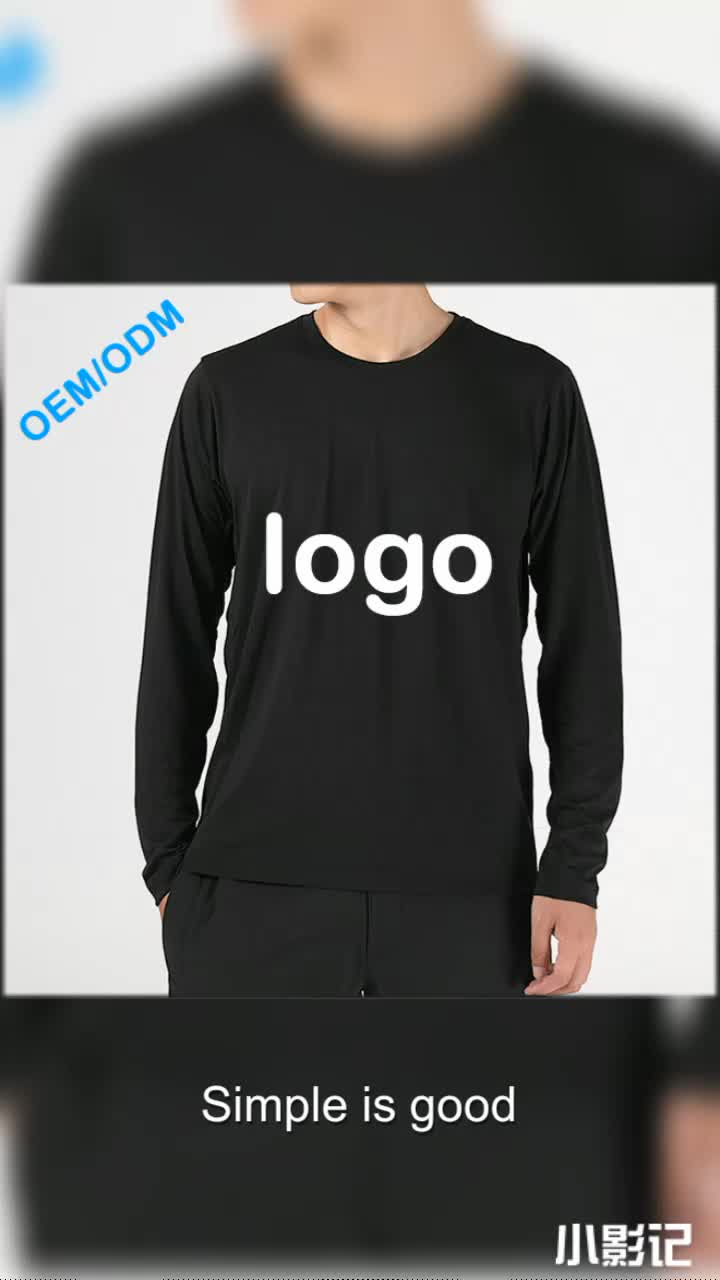 100% Cotton Urban Fashion Men Long Sleeve T-Shirt
