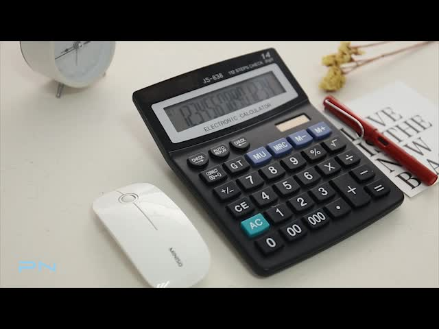 112 Steps Check Correct 14 Digit Electronic Calculator Factory from China