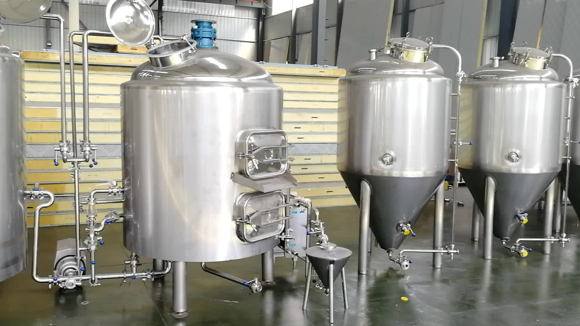 2bbl-5bbl copper brew kettle, beer brewing system for sale