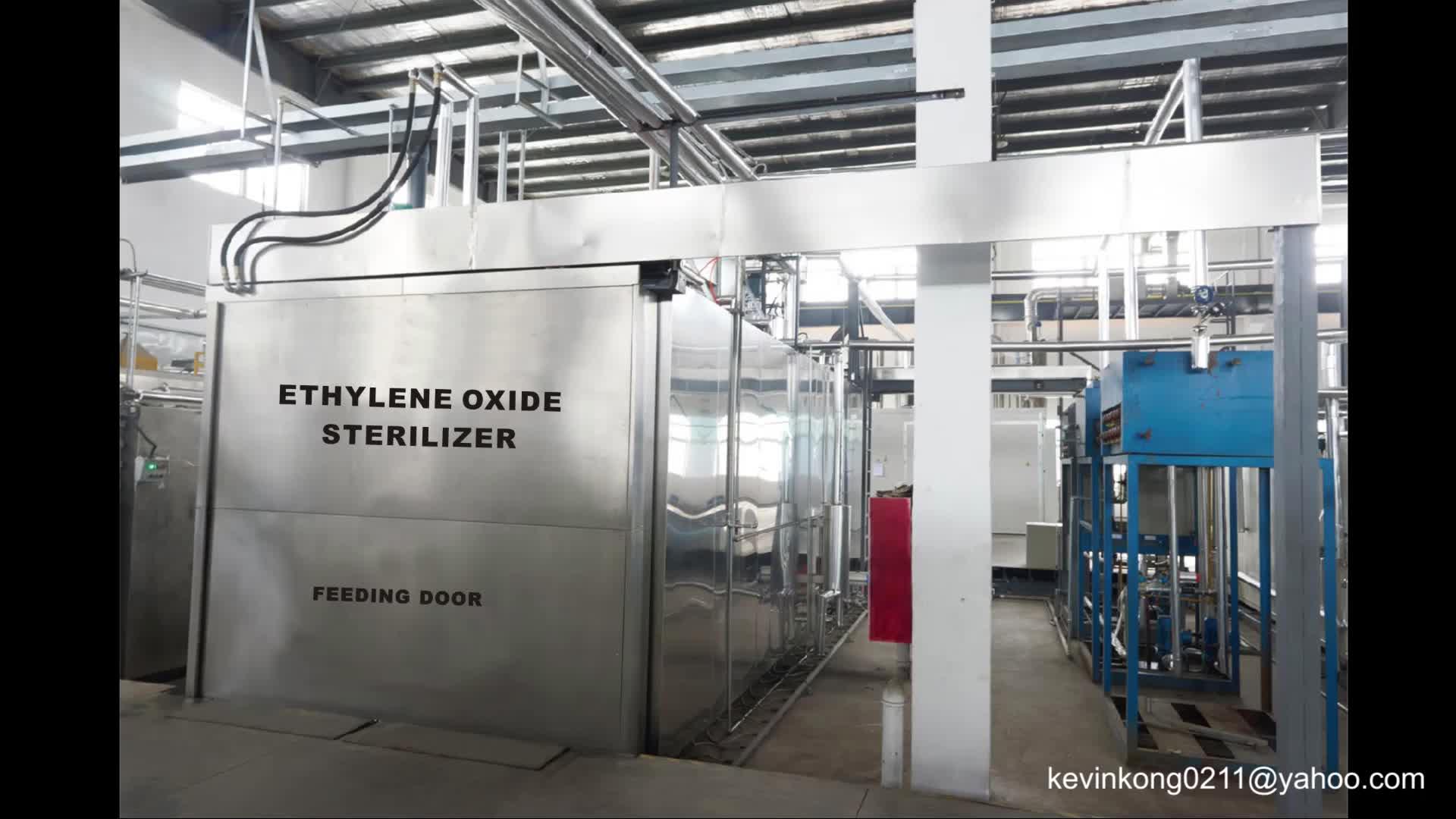 Ethylene Oxide Sanitation EO/ETO Gas Sterilizer - Buy Gas