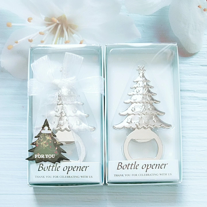 Christmas Tree Bottle Openers Halloween Christmas Thanksgiving Present for Guests Wedding Baby Shower Souvenirs Party Supplies