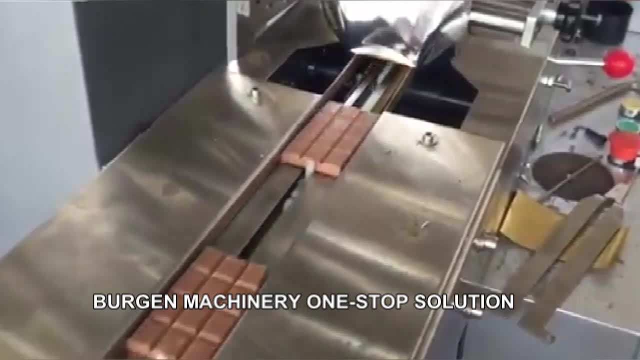 BG-250SZ Automatic Chocolate Bar Candy Biscuit Packaging Machine