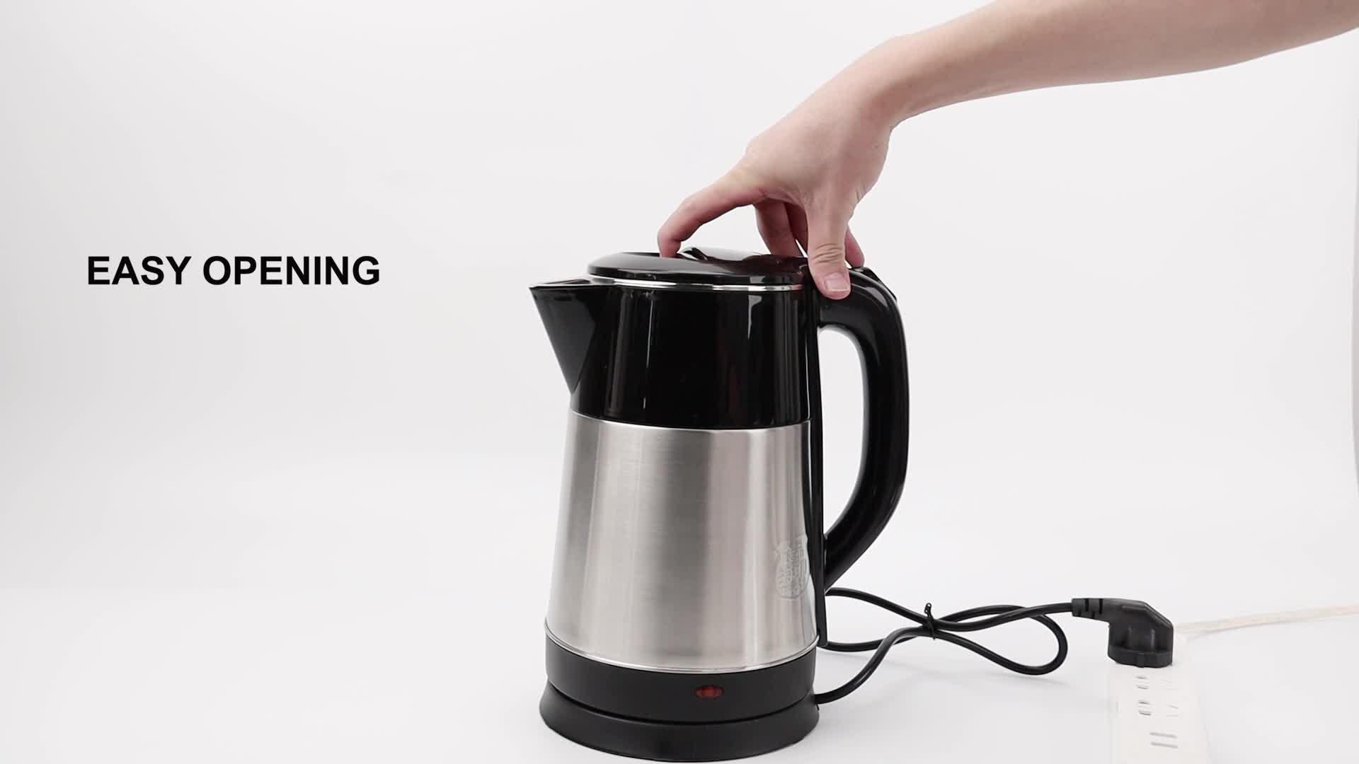 Yonsa Beste Große Größe Hotel Krug Cordless Teile Elektrische Wasser Kaffee Tee Wasserkocher