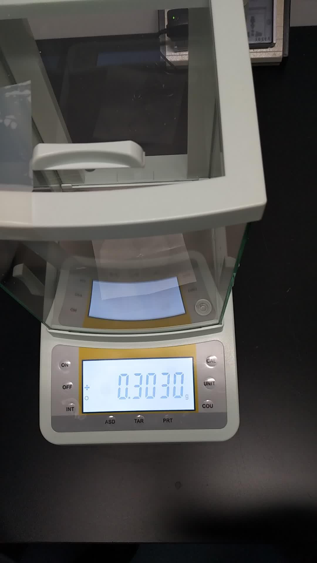 実験室デジタル電子分析バランス 0.1mg 精度/高精度バランス 220/0。0001 グラム automic とキャリブレーション