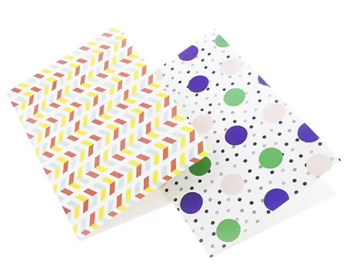Custom Kraft Paper Mini Handmade Decoration Thank You Cards/Motivational/Animated Wedding Invitations/Glitter Greeting Gard