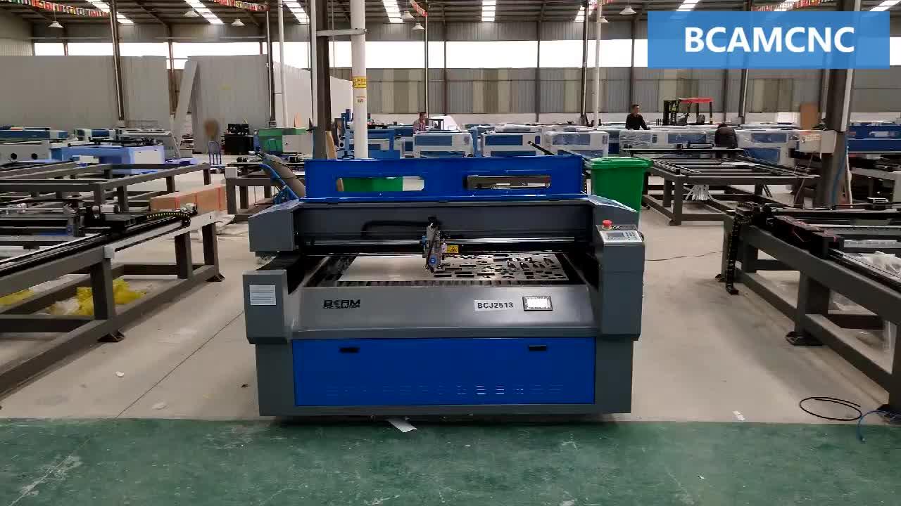 Hout MDF acryl SS cnc CO2 laser snijmachine voor metalen met promoties korting