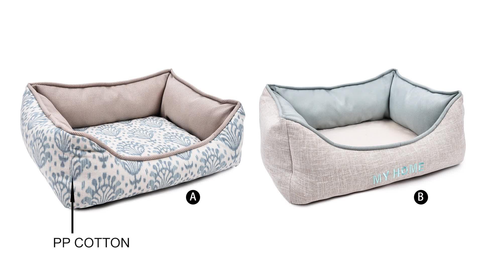 Tianyuan Memory Foam Pet Dog Bed,Foam Padded Luxury Pet Bed