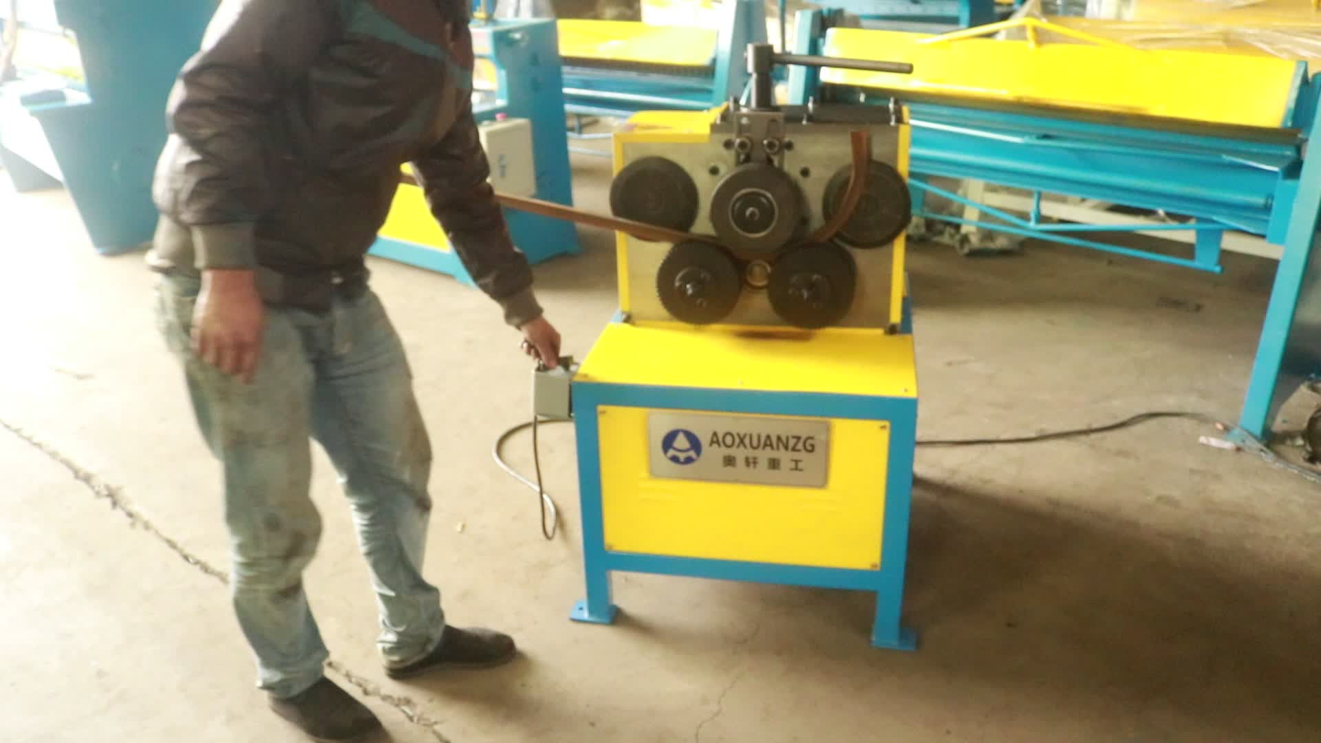 High quality factory price electric angle steel pipe tube rolling round machine on sale