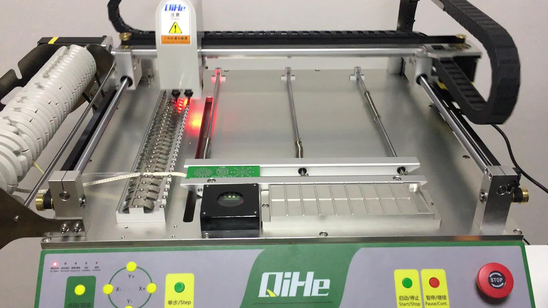 QIHE TVM802A 전자 제품 기계 smd 픽앤 플레이스 기계 led 기계