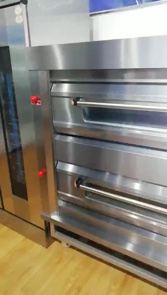 Luxury gas single deck baking oven,hot selling small bread oven equipment
