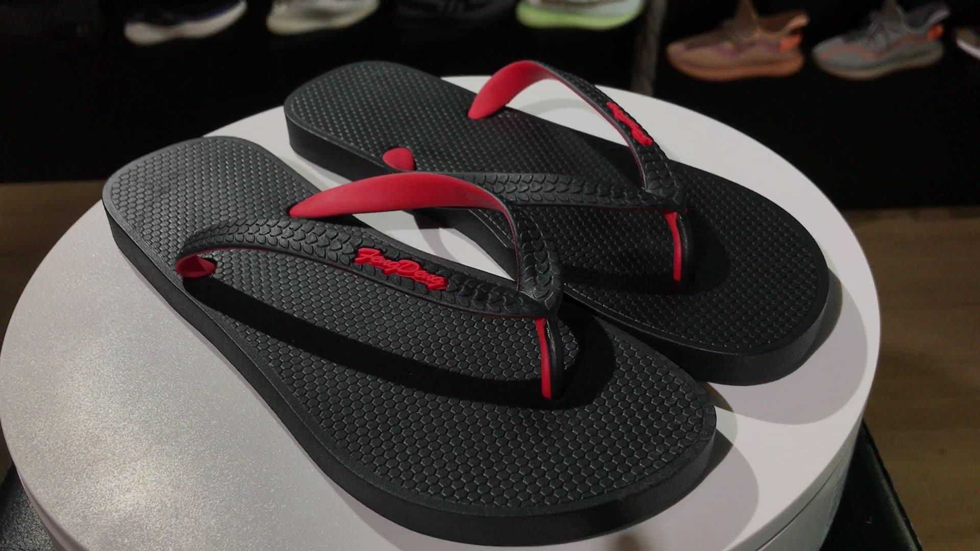 ייצור OEM חוף נעלי PVC הדפסת כפכפים