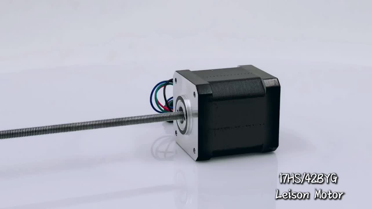 NEMA 17 Non-Captive Linear Lead Screw Stepper Motor
