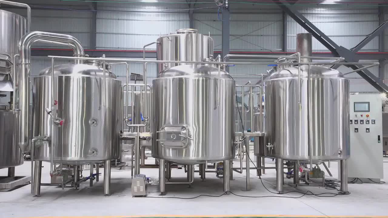 300L 500L 1000L 2000L beer making machine craft beer brewery Industrial turnkey Restaurant home Beer Brewing Equipment system