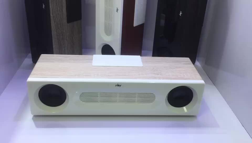 FM радио карты памяти AUX аудио 8 Вт Hifi Super Bass стерео звук системы древесины усилители домашние Bluetooth беспроводной динамик