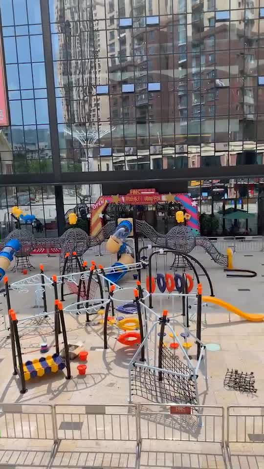 Plastic outdoor kids schommelen wip stoelen gemaakt in Wenzhou China