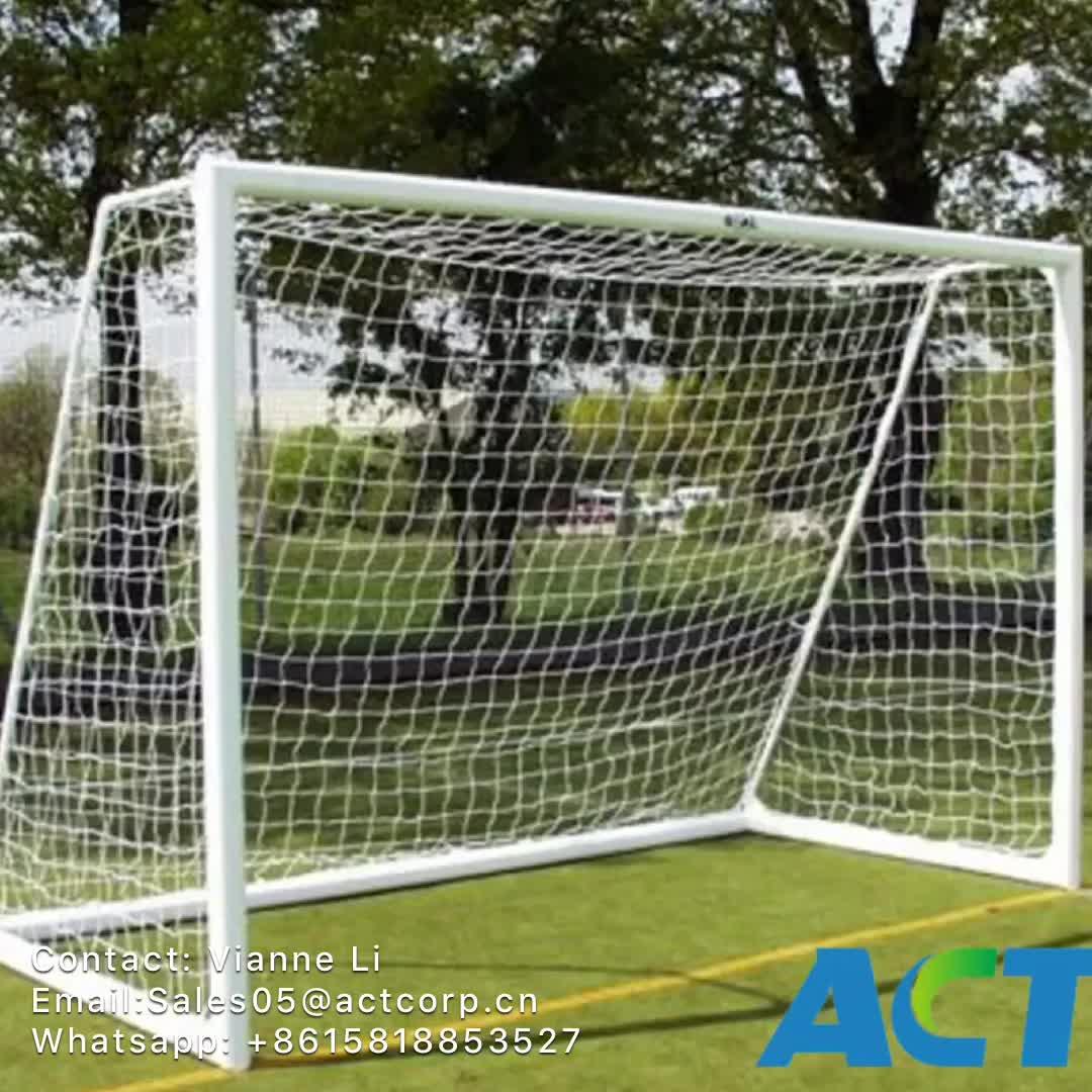 Metas de futebol de alumínio de pé livre de 11 de lado