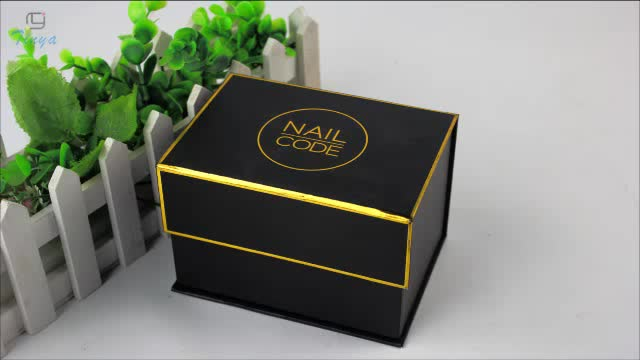 fancy floral packaging elegant cardboard eyelash boxes