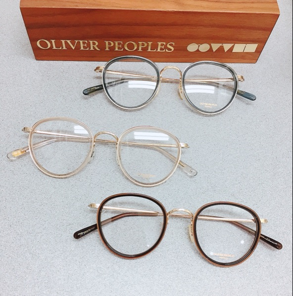 USD 1259.73] Oliver peoples MP-2 Glasses 30 Anniversary Section 18K ...