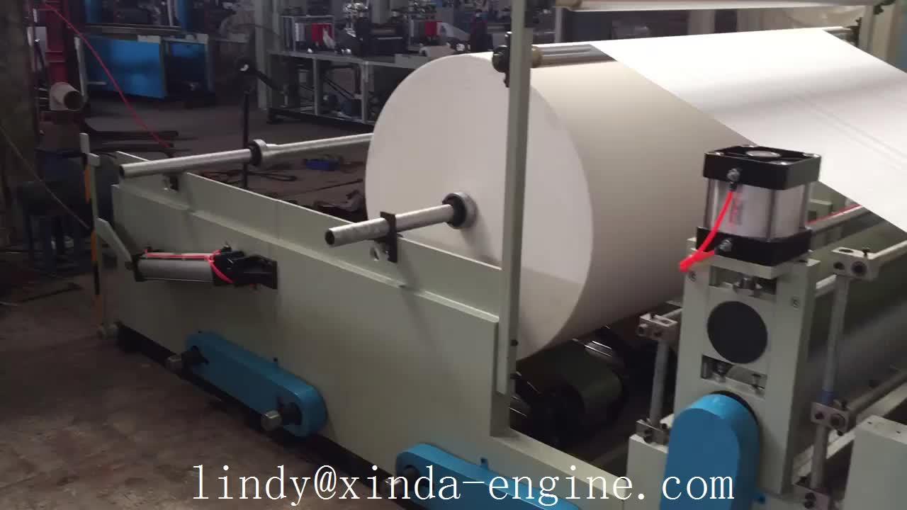กระดาษชำระลายนูนเครื่องเจาะในประเทศจีน