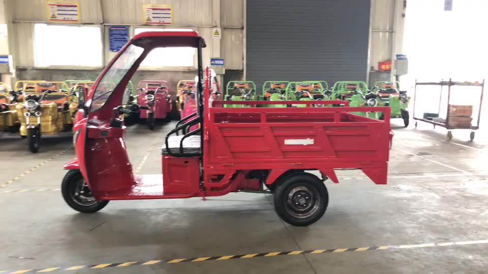 kenya cargo electric tricycle eec front loading cargo tricycle