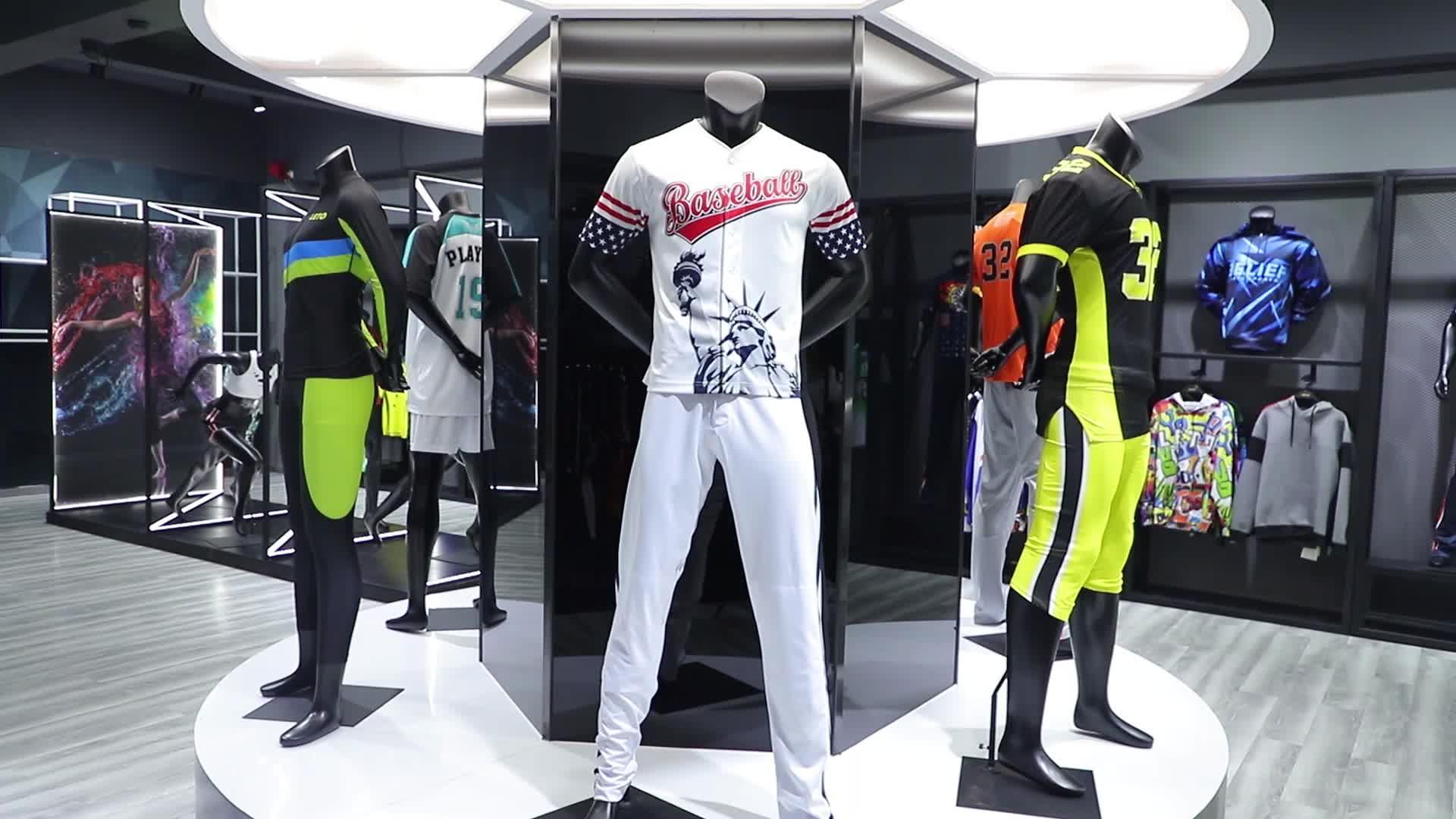 Baseball & Softball Wear Sportswear and Adults Age Group Blank Baseball Jerseys Wholesale