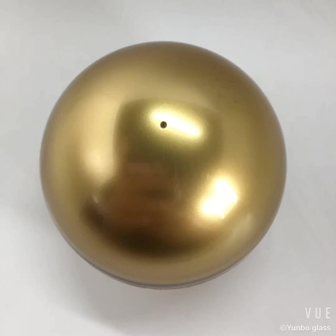 15g forma de bola de plástico empaquetado cosmético, tarro redondo acrílico crema jar empaquetado cosmético