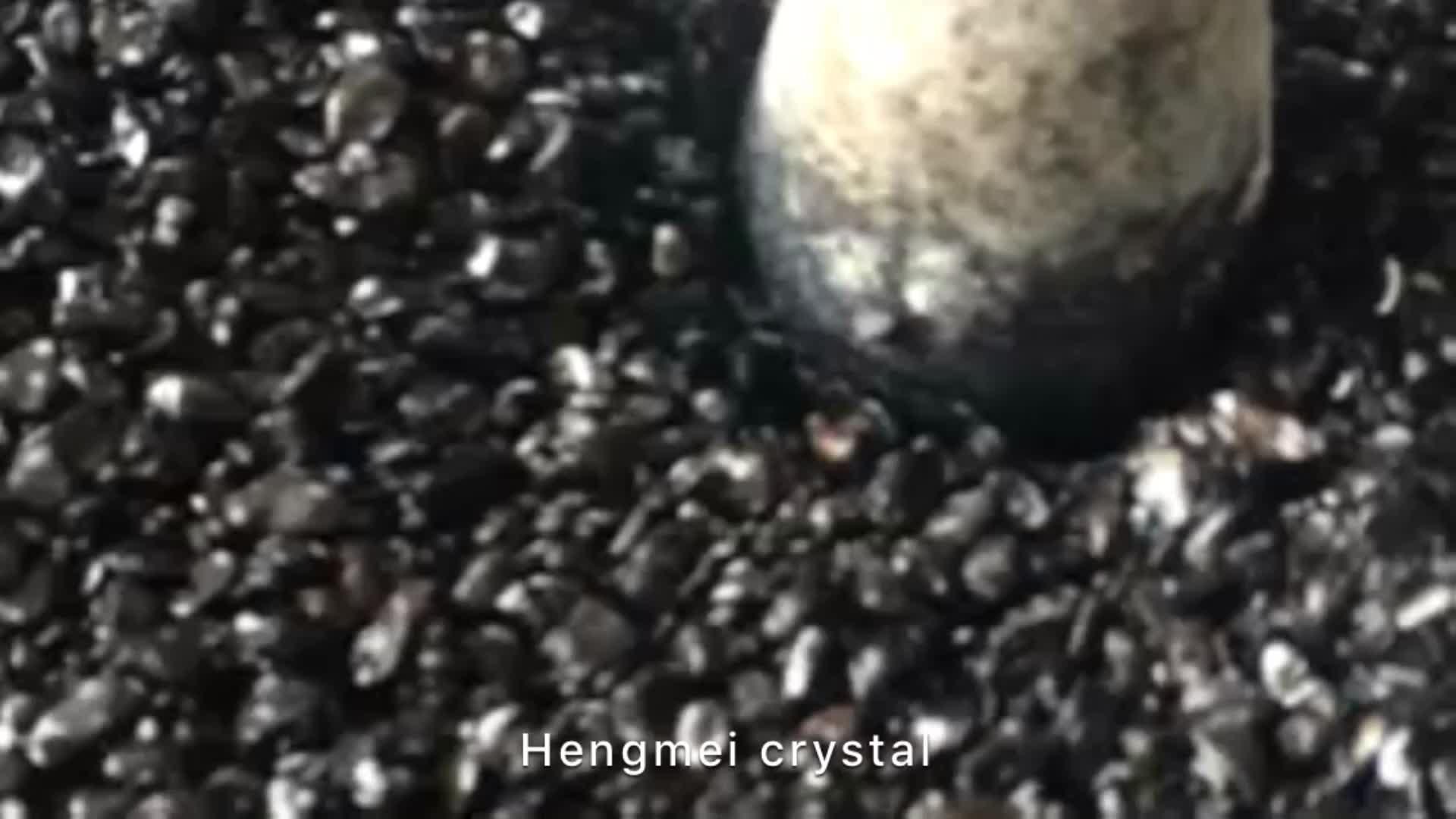 Commercio all'ingrosso lucido fluorite naturale quarzo cristallo tumbled stones