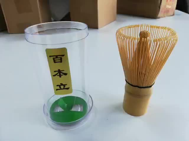 New Customized Japanese Matcha Green Tea Powder Bamboo Tea Whisk